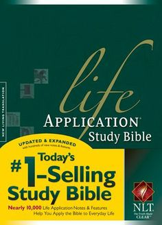 Life Application Study Bible NLT by Tyndale House Publishers, http://www.amazon.com/dp/B005FD3X6U/ref=cm_sw_r_pi_dp_IGUYpb054N56C