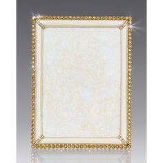 Jay Strongwater Stone-Edge 5 x 7 Frame (800 AUD) ❤ liked on Polyvore featuring home, home decor, frames, gold, home decor frames, handmade picture frames, jay strongwater picture frames, jay strongwater, jay strongwater frames and stone home decor