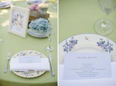 plate wedding setting http://flutterglass.com/