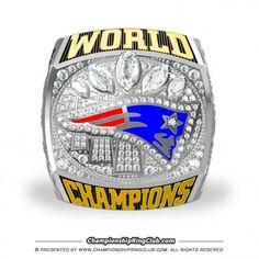 2016 New England Patriots Super Bowl Championship Ring - ChampionshipRingClub.com