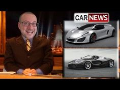 Gaskings Car News Episode 14 - Veneno Roadster, Icona Vulcano, Mercedes/Ferrari/Mustang crash - YouTube