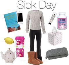 My Sick Day Favorites... Lolol I love that someone made this! Now that fall/winter is approaching soon I will for sure need a sick day outfit prepared!