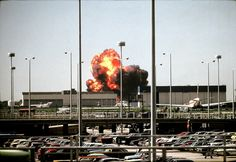 American Airlines Flight 191 crashes behind Chicago's O'Hara airport moments after take off on May 25, 1979. The deadliest aviation accident in U.S. history until 9/11/01.