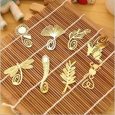 0.50$  Buy here - http://ali1gy.shopchina.info/go.php?t=1878649153 - Mini Cute Kawaii Gold Metal Bookmark Paper Clip Antique Plated Butterfly Dragonfly Bookmarks Korean Statioenry Free shipping 807  #magazineonline