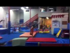 Drill to Teach the Block in a Front Handspring Vault in Gymnastics. Gymnastics Levels, Gymnastics Lessons, Gymnastics Academy, Gymnastics Tricks, Gymnastics Coaching, Gymnastics Workout, Artistic Gymnastics, Kids Gym, Great Place To Work
