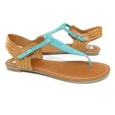 Dolce Vita 'Drayper' Sandal (Teal) « ShoeAdd.com – More Shoes For You Every Day