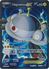 2014 Pokemon XY Flashfire #101 Magnezone EX Full Art HOLO Ultra Rare