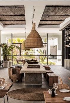 Casa Cook in Rhodes/Est Living African Interior Design, Beach Interior Design, Tropical Interior, African Design, Interior Architecture, Interior And Exterior, Interior Styling, Interior Decorating, Ibiza Style Interior