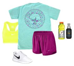 """""""☀️☀️☀️☀️"""" by mckenzie-carr0ll ❤ liked on Polyvore featuring NIKE and Bumble and bumble"""