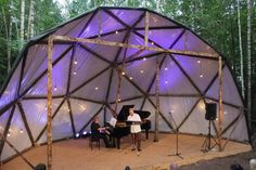 Stage in the wood - Google Search