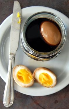 Neo-Homesteading: Soy Lacquered Eggs and Wasabi Deviled Eggs