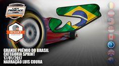 GP DO BRASIL DE F1 2016 - CAT. SPRINT - NARRAÇÃO LUIS COURA - LIGA PRORA...