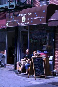 Unleashed Spa & Self Service Dog Wash  63 reviews   218 Ave B  New York, NY 10009  Neighborhoods: East Village, Alphabet City