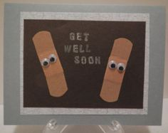 Get Well Soon Card by K2edDesigns on Etsy