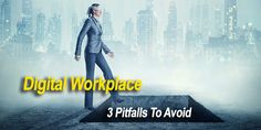 Digital Workplace: 3 Pitfalls To Avoid - Business Technology, Workplace, Connection, Software, Digital, Movie Posters, Film Poster, Popcorn Posters, Billboard