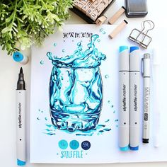 Exquisite Learn To Draw A Realistic Rose Ideas. Creative Learn To Draw A Realistic Rose Ideas. Copic Marker Drawings, Sketch Markers, Pencil Art Drawings, Realistic Drawings, Colorful Drawings, Art Sketches, Copic Art, Industrial Design Sketch, Color Pencil Art