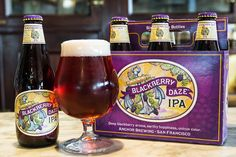 Anchor Brewing Releases Blackberry Daze IPA