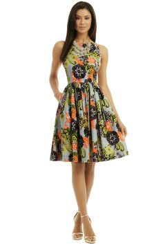 MSGM - Poppy Poplin Dress
