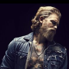 May 2020 - This Pin was discovered by å¿ æž— é Josh Mario John, Viking Beard, Viking Men, Mens Hairstyles With Beard, Haircuts For Men, Bob Hairstyles, Korean Hairstyles, Medium Hairstyles, Black Hairstyles
