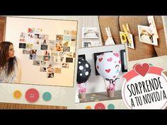 PON BONITA TU PARED ♥ - Yuya - YouTube (Me gusto mucho la idea y más si se tiene una pared que no sabes que poner)