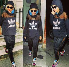 Rita ora | sporty&classy adidas