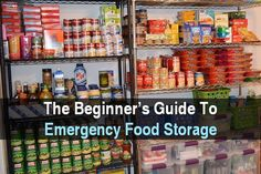 Quick Navigation Having a large food stockpile is one of the main goals of every prepper. Unfortunately, many newbies think that all they have to do i. Prepper Food, Survival Food, Survival Prepping, Emergency Preparedness, Survival Skills, Survival Quotes, Hurricane Preparedness, Survival Videos, Survival Knife