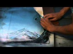 spray paint art tutorial free climbing