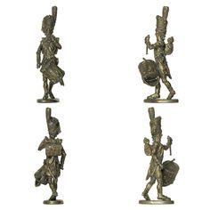 Tambor - Música de la Guardia Imperial (Manufacture Historique de Soldats de Plomb - 60 mm)