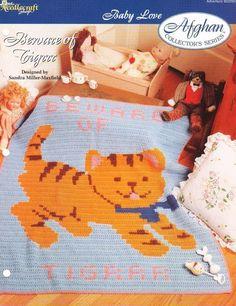 Stack /'em Up Afghan TNS Baby Love Crochet PATTERN//INSTRUCTIONS//NEW Leaflet
