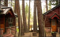 Metolius River Cabins. Camp Sherman, Oregon