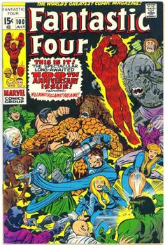 Approved By The Comics Code - Human Torch - Thing - Monkey - Invisible Woman - Jack Kirby