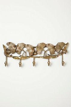 Ginkgo Trellis Hook Rack #anthropologie