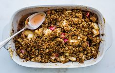 Once you nail this foolproof process, you can make a fruit crumble any time, anywhere.
