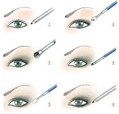 cr-eye make-up how to