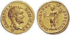 Imperial Rome AV Aureus ND struck 194AD Clodius Albinus 193-95AD