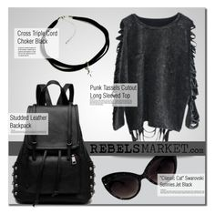 """""""REBELSMARKET.com"""" by monmondefou ❤ liked on Polyvore featuring rebelsmarket"""