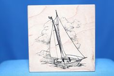 Detailed Sailboat In Wind USA 1995 G-1479 PSX Wood & Foam Backed Rubber Stamp #PSX     -   http://autopartspuller.com/ Great Sale On entire store!! Copper, Glassware, Wood Crafts, Scrap Booking   Also Find us on:  http://hometownvintage.com @HomeTownVintage @autopartspuller @preppershowto http://facebook.com/hometownvtg http://facebook.com/AutoPartsPuller