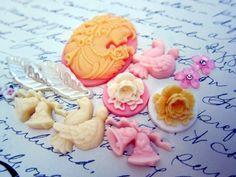Embellishment Kit - Romantic by NatashaScrapbooKorner, $4.70 USD