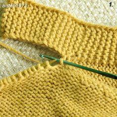 Russian Knitting Step by Step Loom Knitting, Knitting Stitches, Baby Knitting, Book Socks, Knitting Patterns, Crochet Patterns, Sock Yarn, Baby Sweaters, Dressmaking
