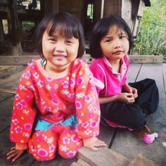 Hilltribe children : I cannot believe that I saw so little about the Hilltribe people of SE Asia...especially Thailand~ Ret Peace Corps Vol. ~> Long before Pinterest came along...