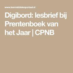Digibord: lesbrief bij Prentenboek van het Jaar | CPNB