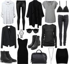 Ah, how I do love blacks and greys