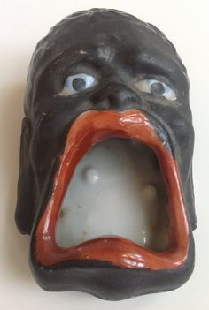 Black Americana Face Ashtray