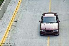 Calypsorot BMW e36 coupe