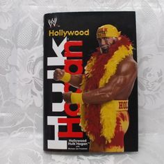 Hollywood Hulk Hogan Autobiography Hardcover With Dust Jacket in Books > Nonfiction Hulk Hogan, Toy Craft, Glass Candle Holders, Nonfiction, Jewelry Crafts, Magazines, Hollywood, Jacket, Comics