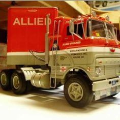 Model Truck Kits, Model Kits, Semi Trucks, Ford Trucks, Best Model, Model Building, Diecast Models, Plastic Models, Box Art