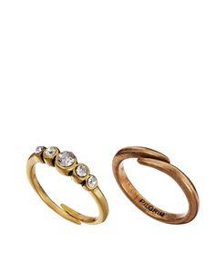 Pilgrim Stone Set Adjustable Ring