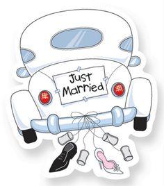 Afbeeldingsresultaat voor just married auto Just Married Auto, Just Married Banner, Wedding Anniversary Cards, Happy Anniversary, Wedding Cards, Wedding Clip Art, Wedding Gifts, Wedding Ideas
