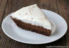 Have a slice of gluten-free chocolate cream pie!