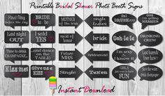New bridal shower photo booth props diy wedding ideas ideas Bridal Shower Props, Simple Bridal Shower, Bridal Shower Centerpieces, Bridal Shower Rustic, Bridal Shower Invitations, Diy Photo Booth Props, Diy Wedding, Wedding Ideas, Wedding Things